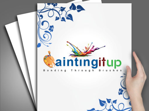 Painting It Up Logo Design