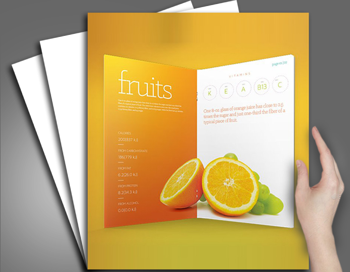 company brochure design