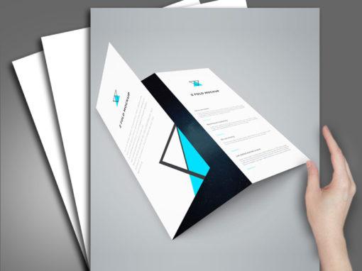 Z Polo Company Tri fold brochure