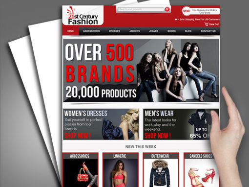 Web Design for SVP Online